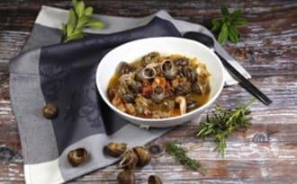 Escargots petits gris à la provençale