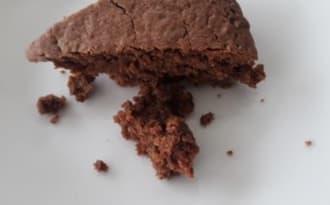 Gâteau au chocolat et aux marrons