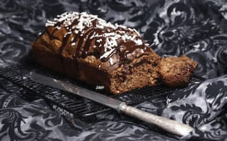 Cake banane coco choco