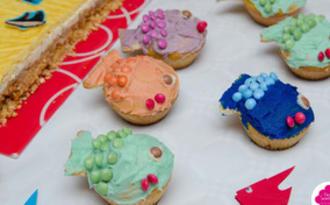 Cupcakes poissons - Fish cupcakes