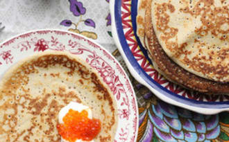 Blinis russes au sarrasin