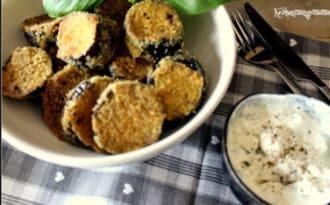 Beignets d'aubergine sans friture