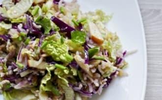 Salade alcaline complète