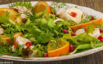 Salade de langouste aux agrumes