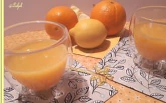 Jus de citron, oranges et fleur d'orange