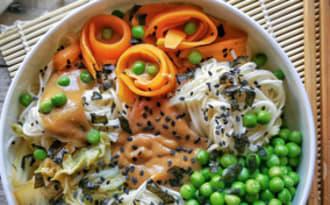 Somen Bowl et sauce au Shiro Miso