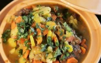 Tajine de boeuf aux carottes