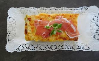 Croque cake à l'italienne
