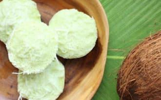 Petits gâteaux indonésiens à la noix de coco
