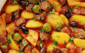 Sauté de boeuf mijoté aux pommes de terre