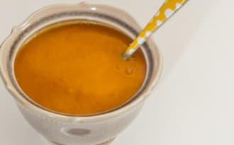 Soupe de potimarron au chorizo