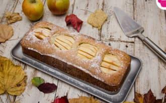 Gâteau aux pommes fossiles