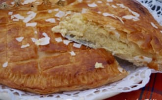 Galette des rois ananas-coco