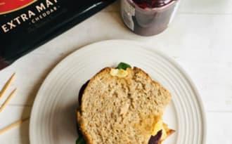 Burger rustique au pain d'épeautre maison