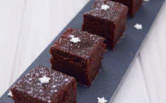 Gâteau au chocolat au caramel