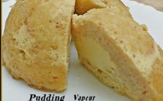 Pudding vapeur au pain et aux œufs