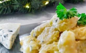Gnocchi maison sauce à la Fourme d'Ambert