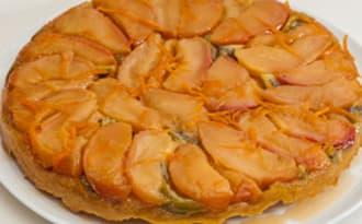 Tarte tatin aux pommes et kiwis
