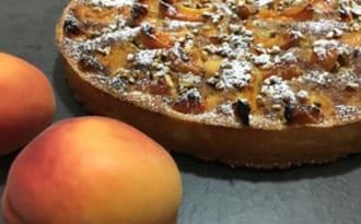 Tarte abricots et pistaches