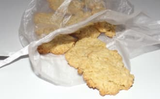 Biscuits aux jaunes d'œufs et à la vanille