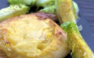 Croustillant de Camembert aux pommes