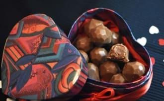 Bonbons de chocolat Mogador