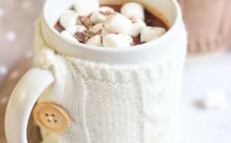 Chocolat chaud épais à l'ancienne
