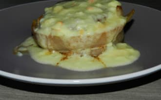 Pavé de boeuf sauce fromage et époisse