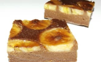Clafoutis banane et chocolat