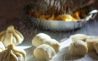 Dumplings chou et carottes