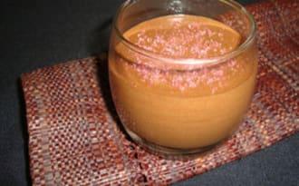 Mousse au chocolat noir à la fleur d'oranger