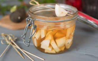 Pickles de radis noir