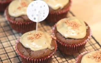 Cupcake poire et café