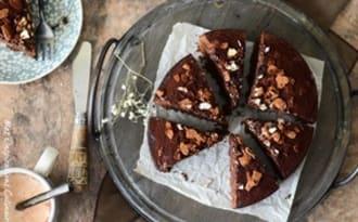 Gâteau au chocolat moelleux aux amandes
