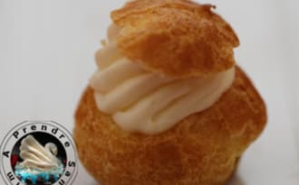 Mini choux chantilly vanille