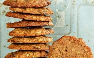 Cookies avoine, épeautre, noix, chocolat