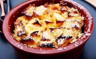 Clafoutis aux pommes - tonka