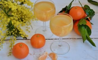 Kir à la mandarine