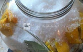 Citrons confits au gros sel