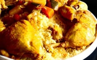 Mon couscous au poulet | Cooking and Cakes