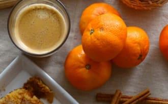 Cobbler pommes, orange et cannelle…