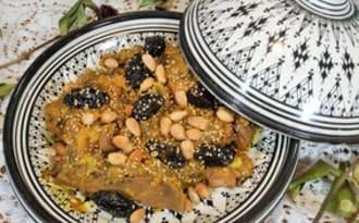 Tajine de veau aux pruneaux à la marocaine