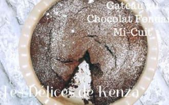 Gateau au chocolat fondant mi-cuit