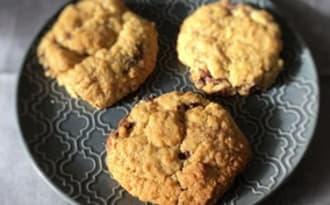 Cookies cœur nutella