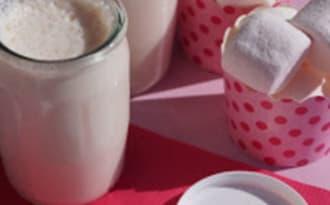 Yaourts aux marschmallows avec ou sans yaourtière