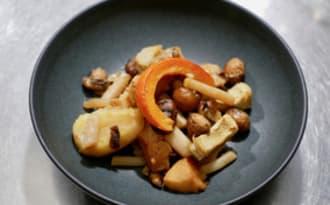 Poêlée de légumes d'hiver.