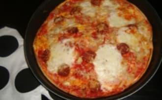 Pizza omelette royale
