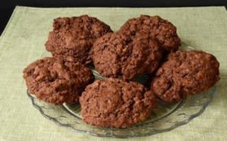 Cookies au chocolat sans oeuf - Ma Cuisine Santé