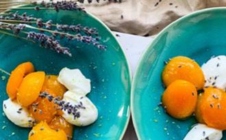 Oreillons d'abricots à la lavande