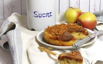 Gâteau à l'envers pomme caramel